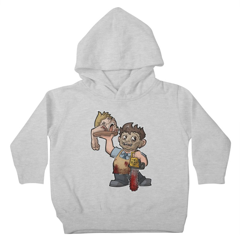 Texas Chainsaw Drive Thru Kids Toddler Pullover Hoody by Marty's Artist Shop