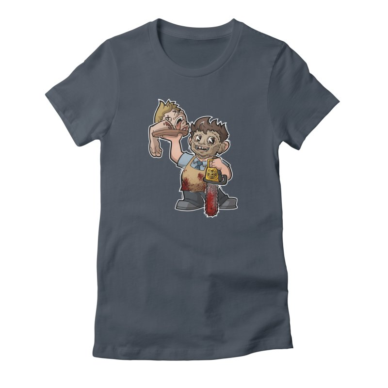 Texas Chainsaw Drive Thru Women's T-Shirt by Marty's Artist Shop