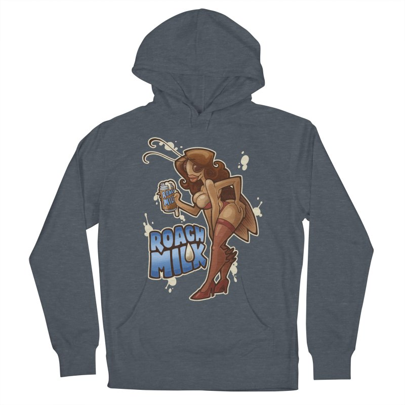 Roach Milk Women's French Terry Pullover Hoody by Marty's Artist Shop