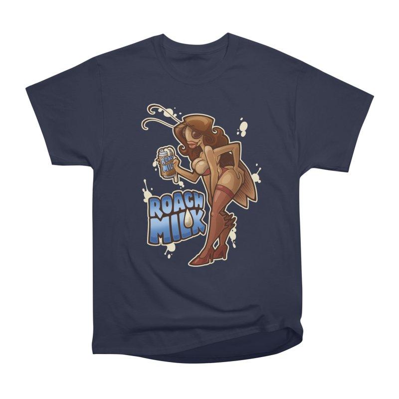 Roach Milk Women's Heavyweight Unisex T-Shirt by Marty's Artist Shop