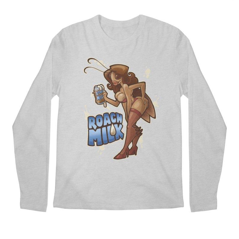 Roach Milk Men's Regular Longsleeve T-Shirt by Marty's Artist Shop