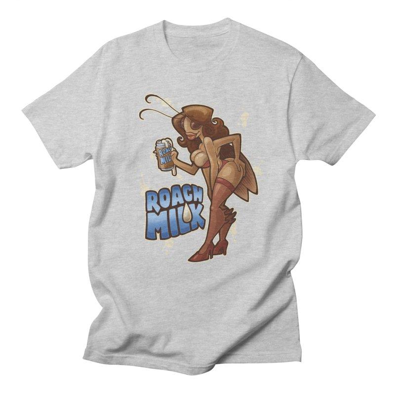 Roach Milk Men's Regular T-Shirt by Marty's Artist Shop