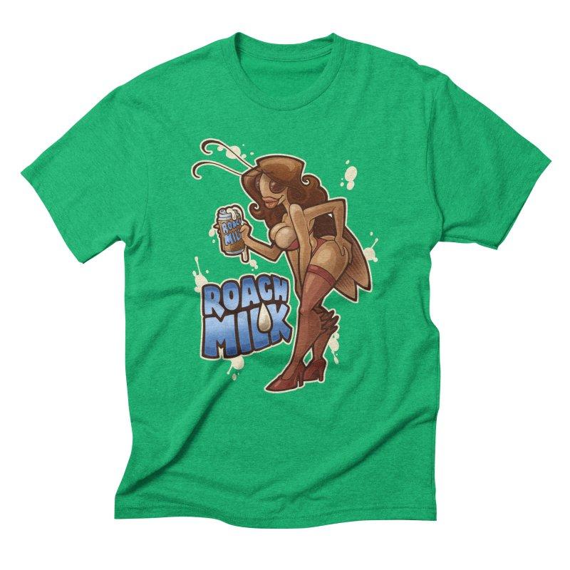 Roach Milk Men's Triblend T-Shirt by Marty's Artist Shop