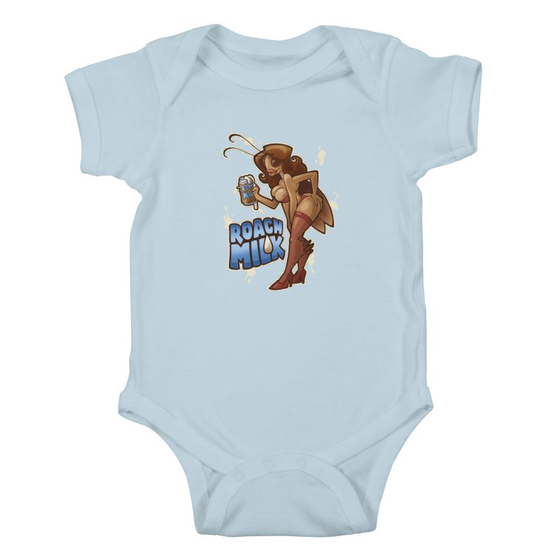 Roach Milk Kids Baby Bodysuit by Marty's Artist Shop