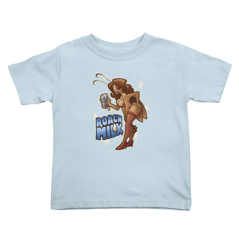 Roach Milk Kids Toddler T-Shirt by Marty's Artist Shop