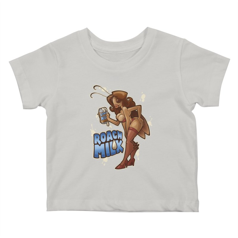 Roach Milk Kids Baby T-Shirt by Marty's Artist Shop