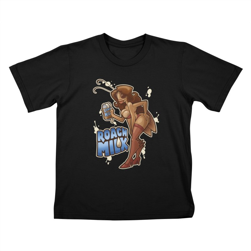 Roach Milk Kids T-Shirt by Marty's Artist Shop