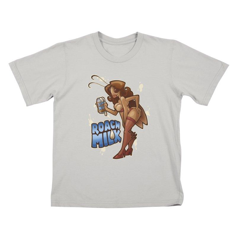 Roach Milk Kids T-shirt by Marty's Artist Shop