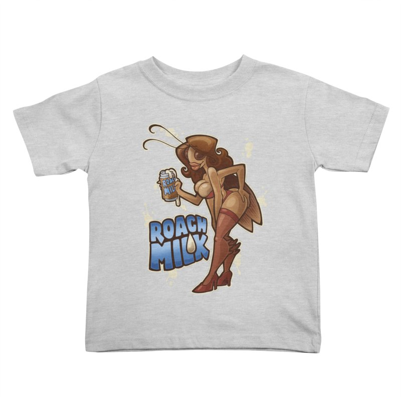 Roach Milk Kids Toddler T-Shirt by Marty's Artist Shop