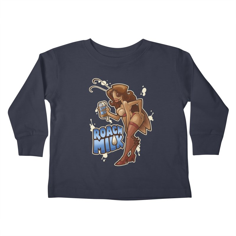 Roach Milk Kids Toddler Longsleeve T-Shirt by Marty's Artist Shop