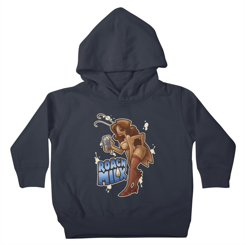 Roach Milk Kids Toddler Pullover Hoody by Marty's Artist Shop