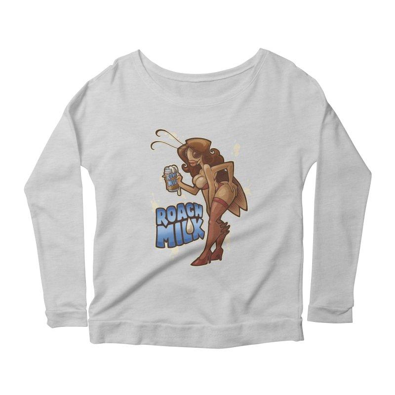 Roach Milk Women's Scoop Neck Longsleeve T-Shirt by Marty's Artist Shop