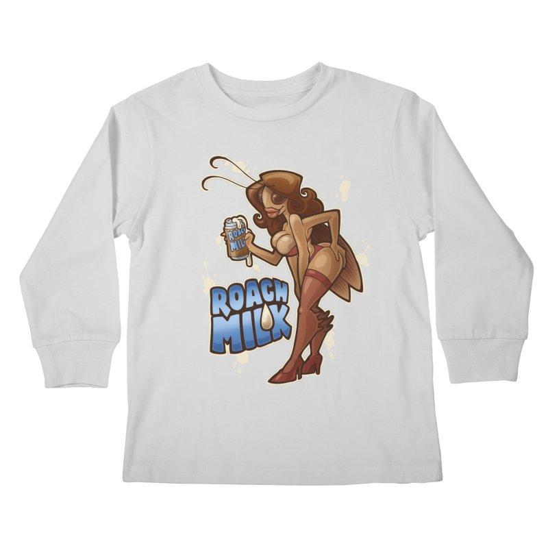 Roach Milk Kids Longsleeve T-Shirt by Marty's Artist Shop