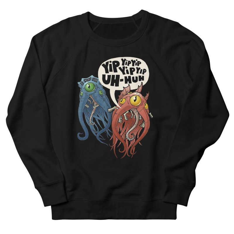 Affirmative Horrors Women's French Terry Sweatshirt by Marty's Artist Shop