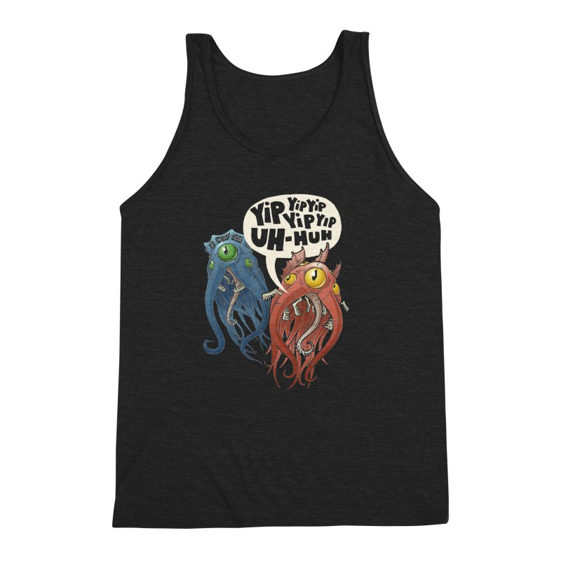Affirmative Horrors Men's Triblend Tank by Marty's Artist Shop