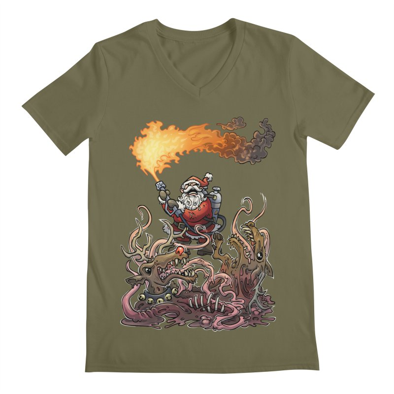 The Thingmas Men's V-Neck by Marty's Artist Shop