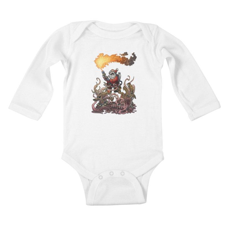 The Thingmas Kids Baby Longsleeve Bodysuit by Marty's Artist Shop