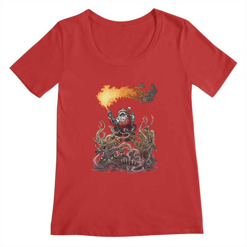 The Thingmas Women's Regular Scoop Neck by Marty's Artist Shop
