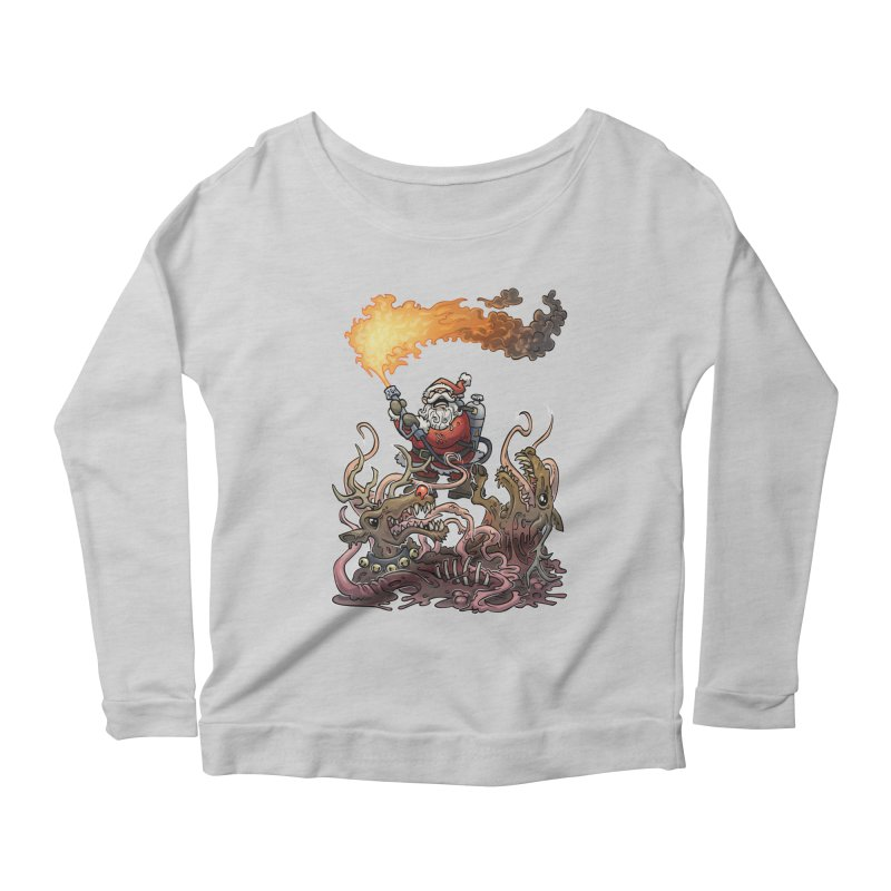 The Thingmas Women's Scoop Neck Longsleeve T-Shirt by Marty's Artist Shop