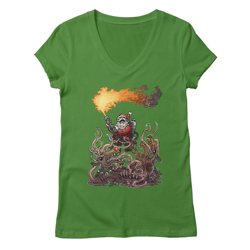 The Thingmas Women's Regular V-Neck by Marty's Artist Shop