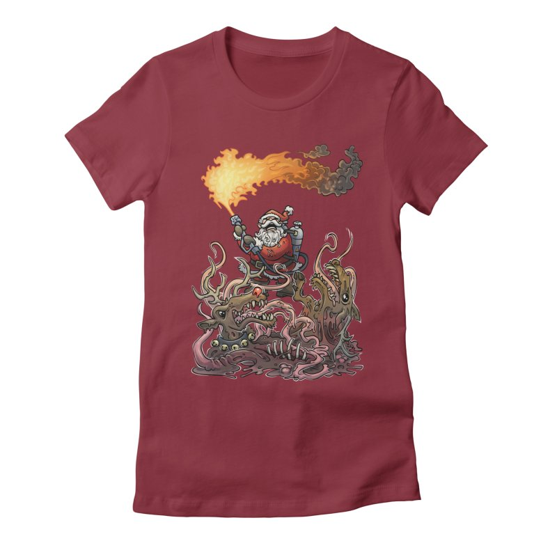 The Thingmas Women's Fitted T-Shirt by Marty's Artist Shop