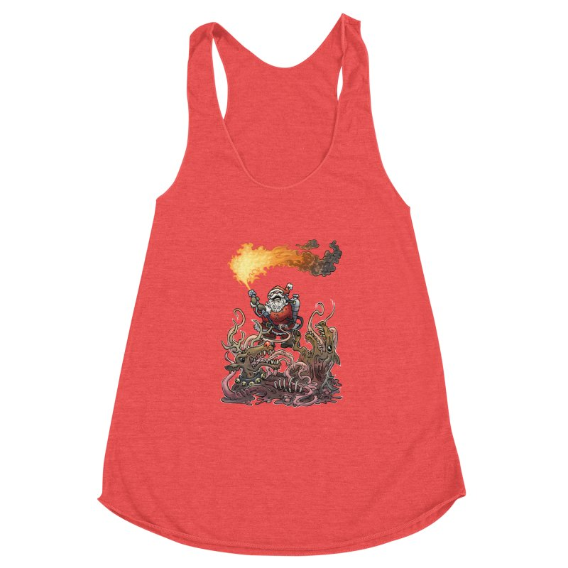 The Thingmas Women's Racerback Triblend Tank by Marty's Artist Shop