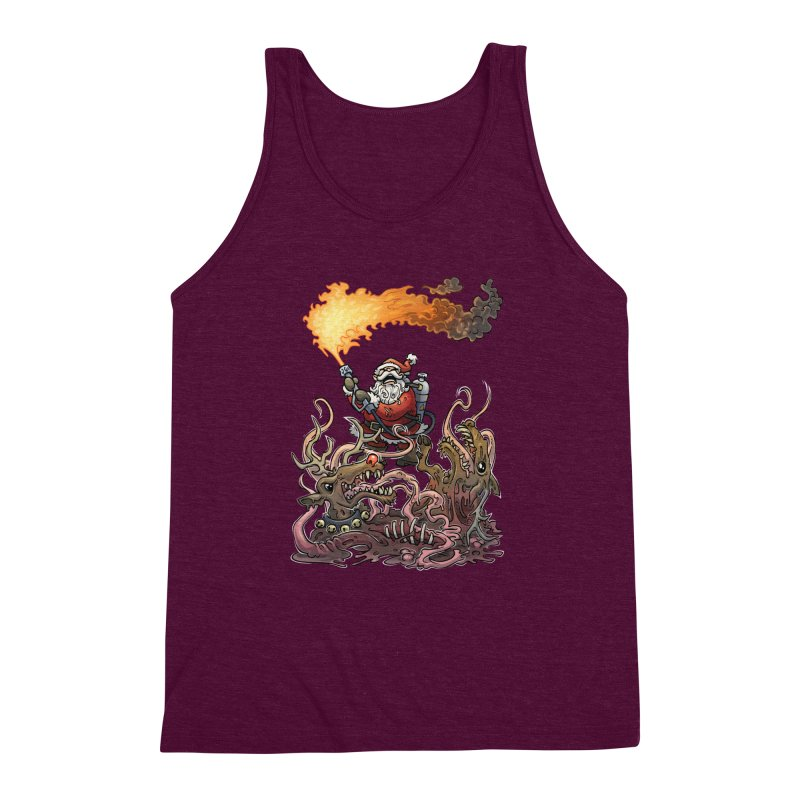 The Thingmas Men's Triblend Tank by Marty's Artist Shop