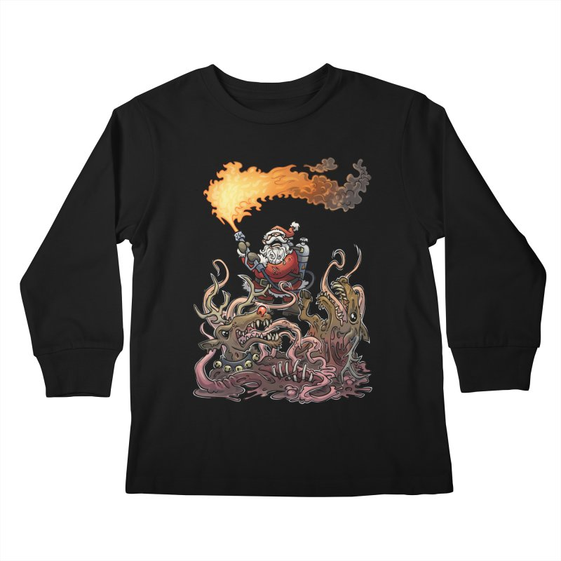 The Thingmas Kids Longsleeve T-Shirt by Marty's Artist Shop