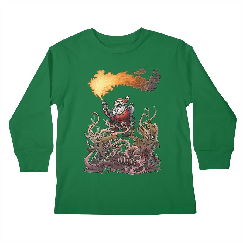 The Thingmas Kids Longsleeve T-Shirt by Marty's Artist Shop