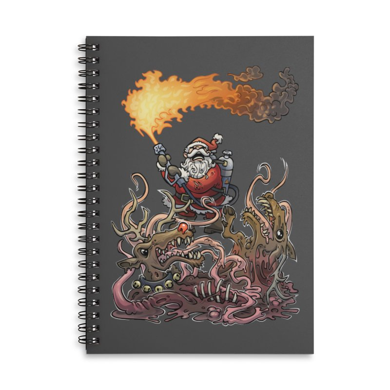 The Thingmas Accessories Lined Spiral Notebook by Marty's Artist Shop
