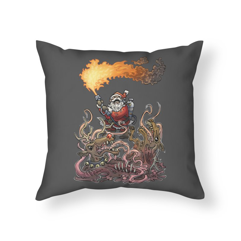 The Thingmas Home Throw Pillow by Marty's Artist Shop