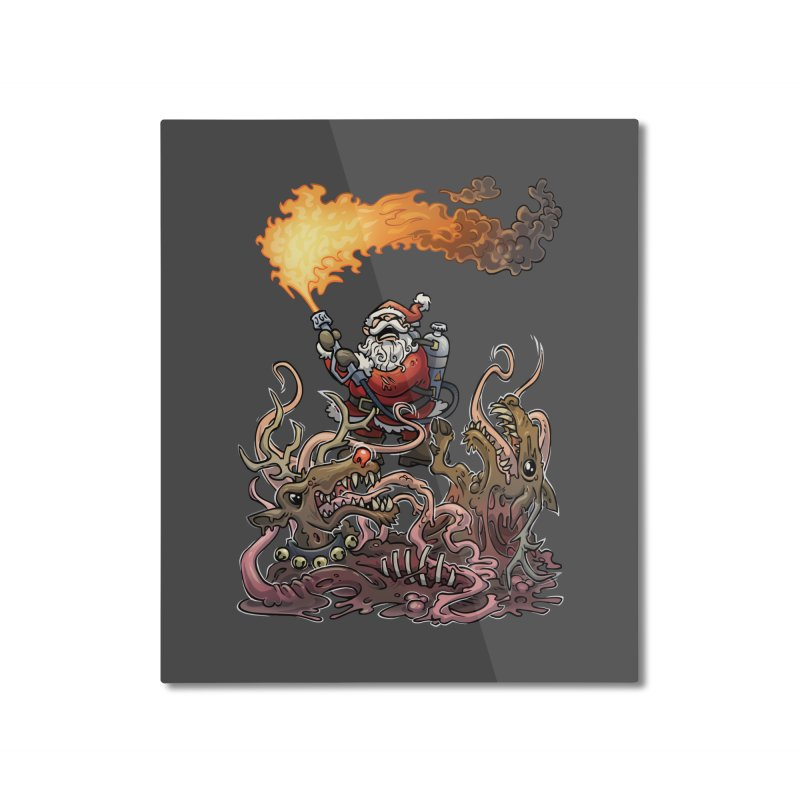 The Thingmas Home Mounted Aluminum Print by Marty's Artist Shop