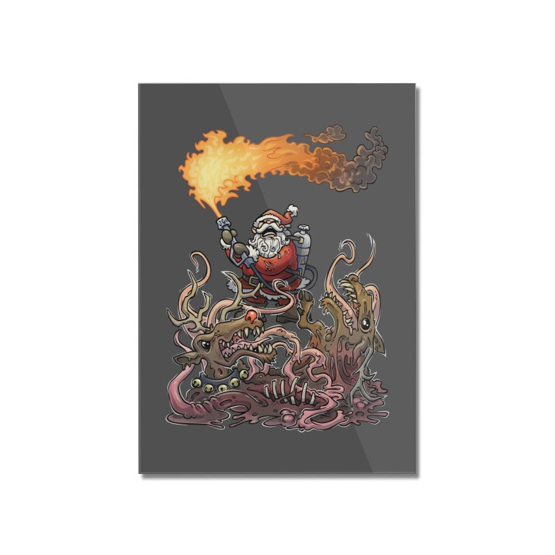 The Thingmas Home Mounted Acrylic Print by Marty's Artist Shop