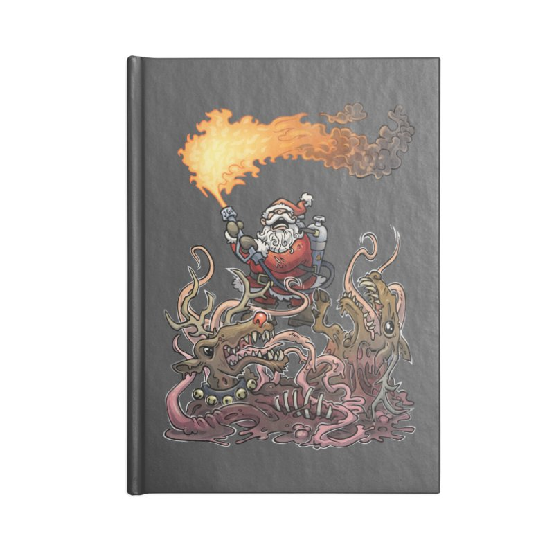 The Thingmas Accessories Blank Journal Notebook by Marty's Artist Shop