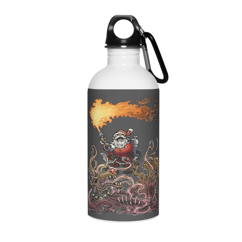 The Thingmas Accessories Water Bottle by Marty's Artist Shop