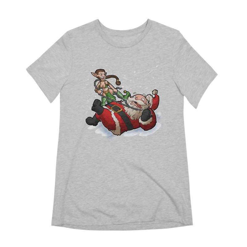 Santa the Hutt Women's Extra Soft T-Shirt by Marty's Artist Shop
