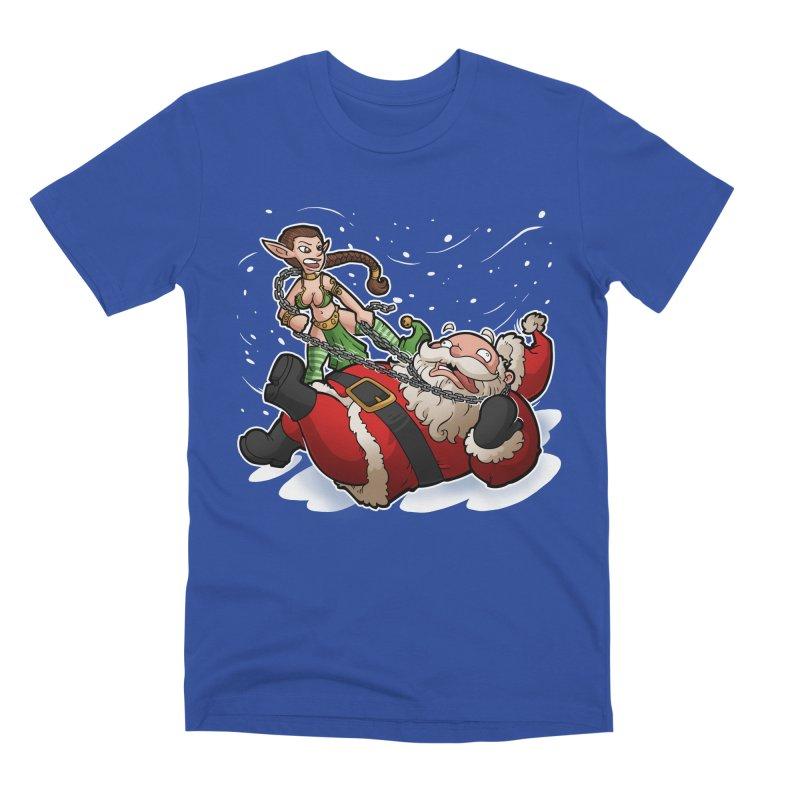 Santa the Hutt Men's Premium T-Shirt by Marty's Artist Shop