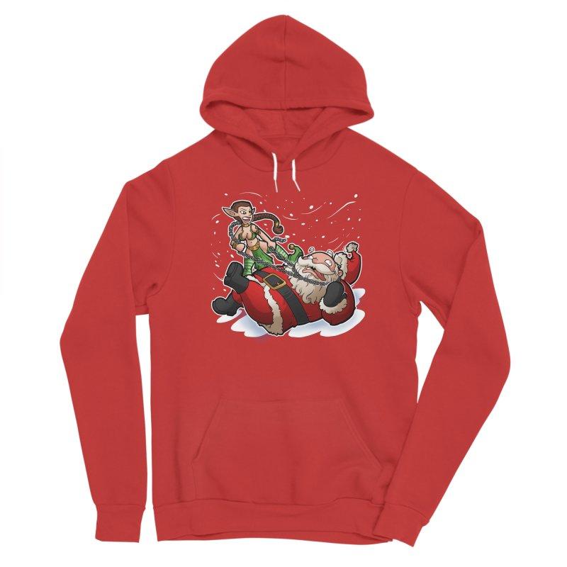 Santa the Hutt Men's Pullover Hoody by Marty's Artist Shop
