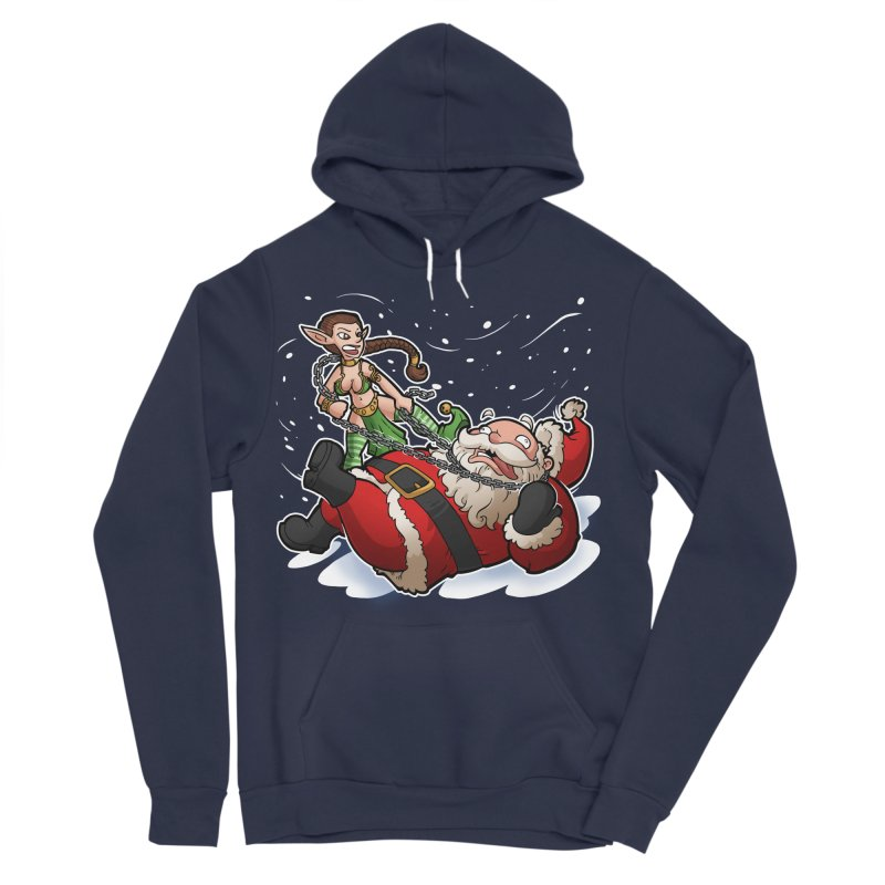 Santa the Hutt Men's Sponge Fleece Pullover Hoody by Marty's Artist Shop