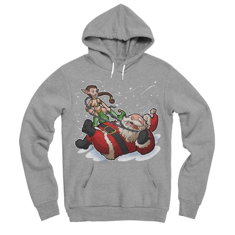 Santa the Hutt Women's Sponge Fleece Pullover Hoody by Marty's Artist Shop