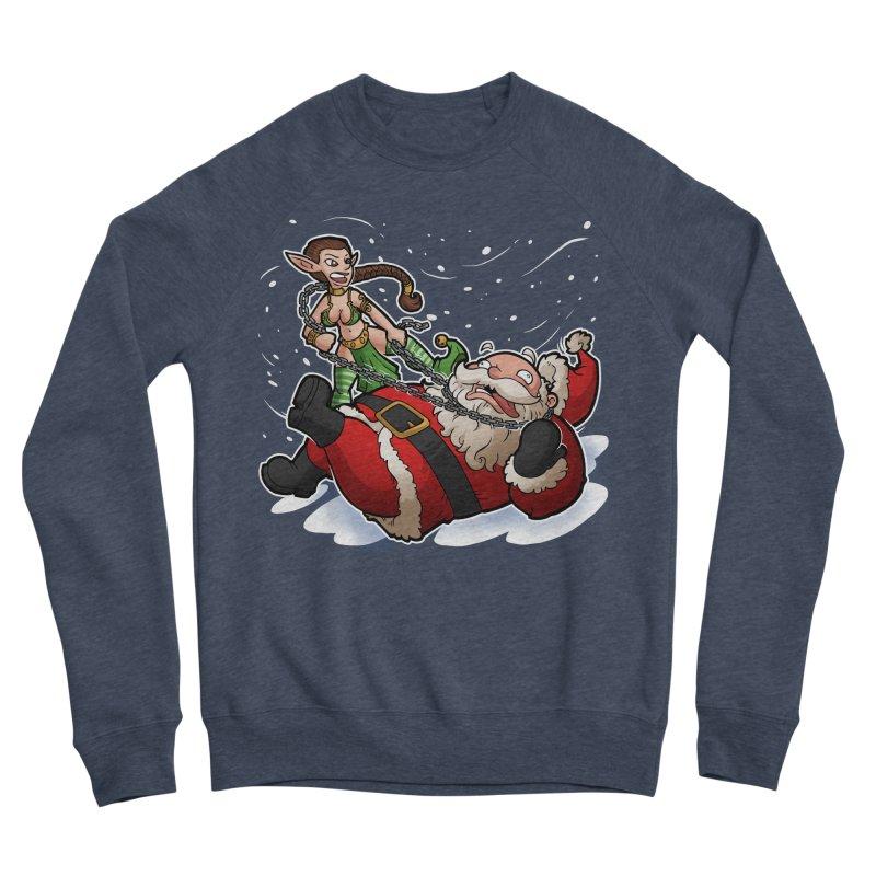 Santa the Hutt Men's Sponge Fleece Sweatshirt by Marty's Artist Shop