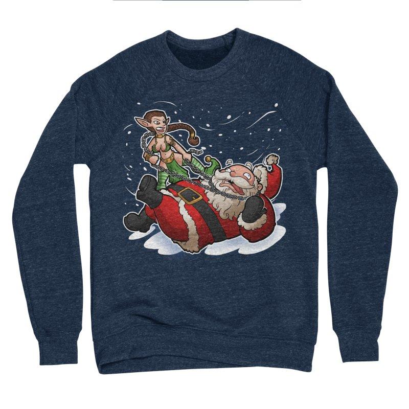 Santa the Hutt Women's Sponge Fleece Sweatshirt by Marty's Artist Shop