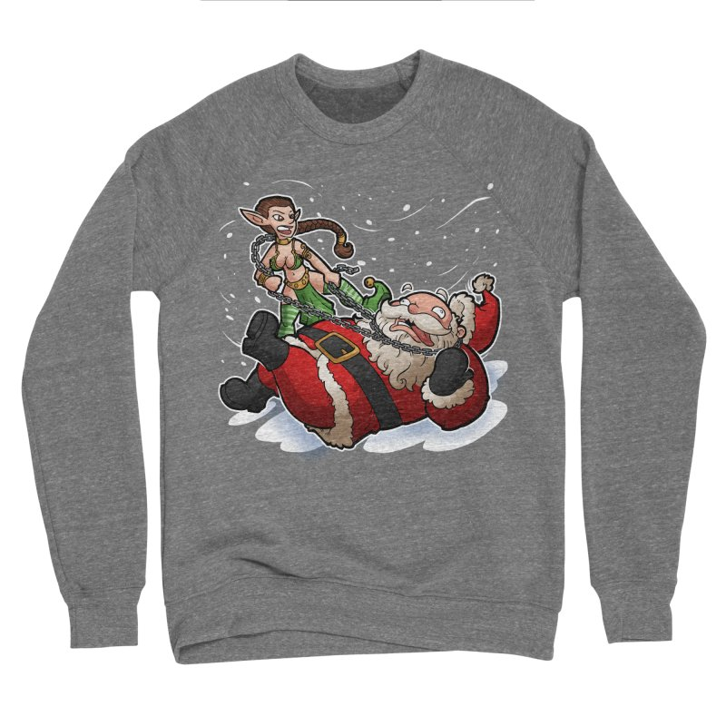 Santa the Hutt Women's Sponge Fleece Sweatshirt by Marty's Artist Shop