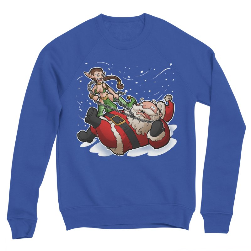 Santa the Hutt Men's Sweatshirt by Marty's Artist Shop