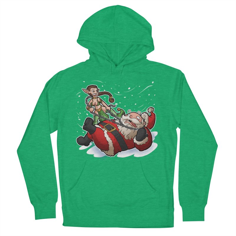 Santa the Hutt Women's French Terry Pullover Hoody by Marty's Artist Shop