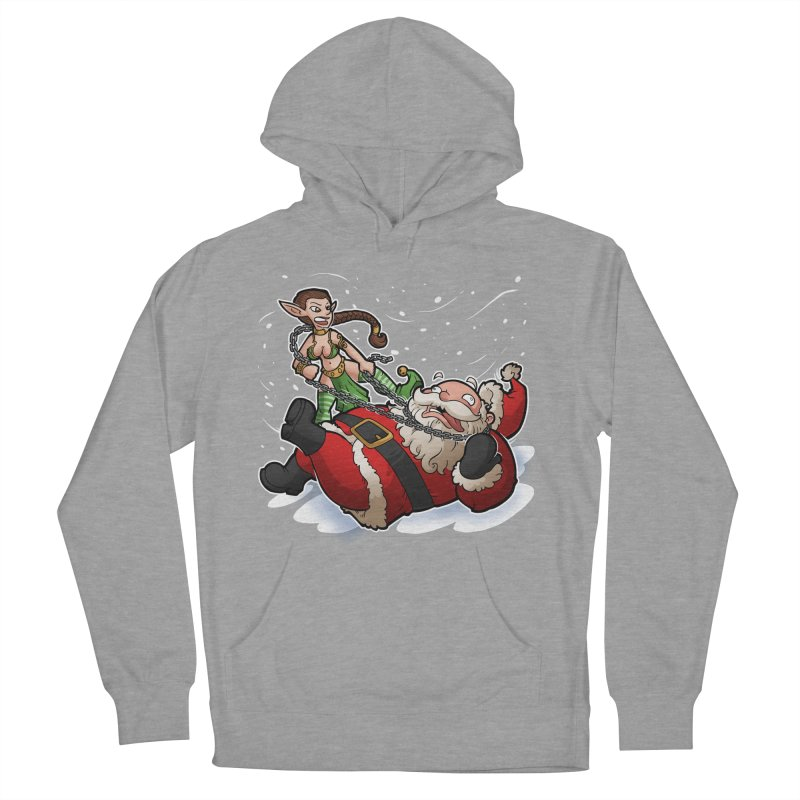 Santa the Hutt Men's French Terry Pullover Hoody by Marty's Artist Shop