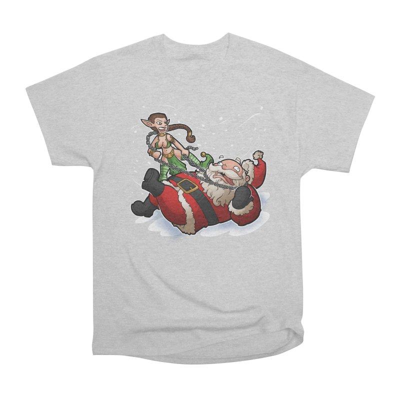Santa the Hutt Women's Heavyweight Unisex T-Shirt by Marty's Artist Shop