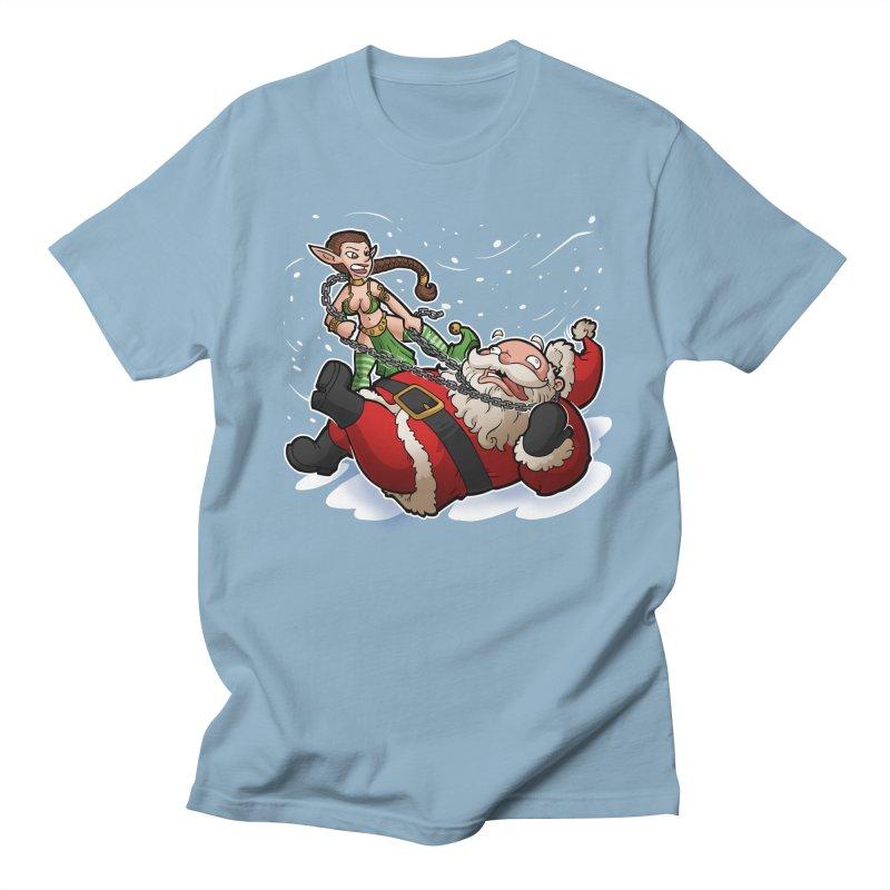 Santa the Hutt Men's Regular T-Shirt by Marty's Artist Shop