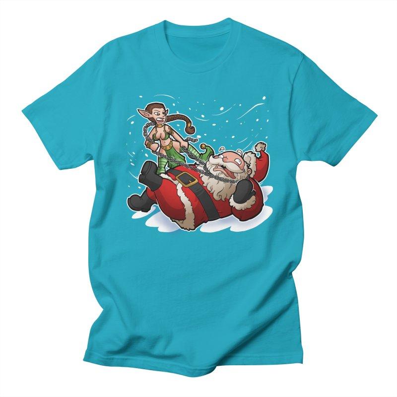 Santa the Hutt Women's Regular Unisex T-Shirt by Marty's Artist Shop