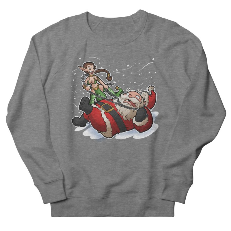 Santa the Hutt Women's French Terry Sweatshirt by Marty's Artist Shop